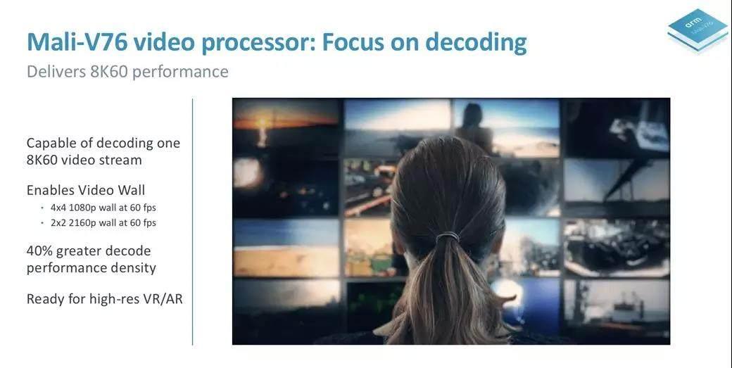 ARM发布首款8K视频处理芯片 支持高达60fps的8K解码