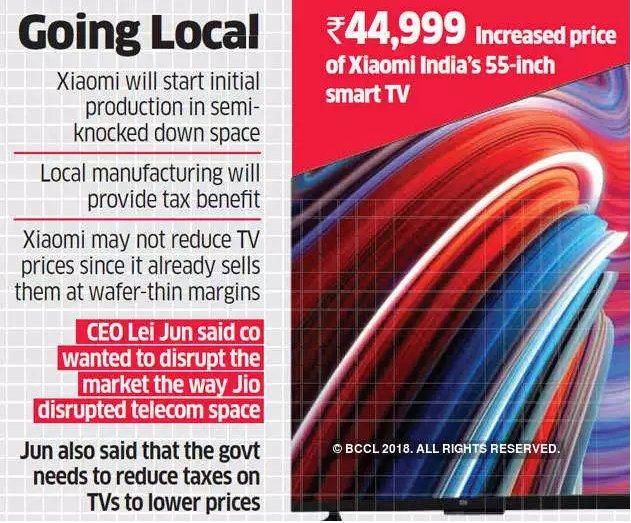 印度电视市场有多诱人?小米三星为智能电视开撕