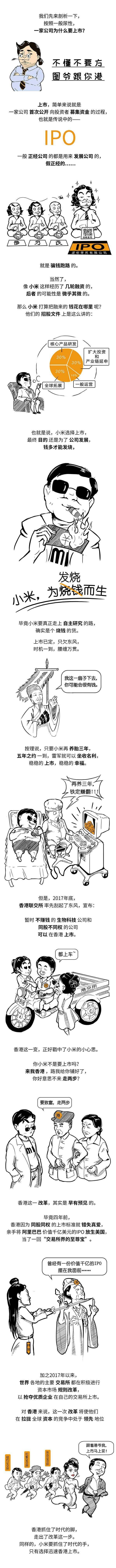 一张图看清小米上市:手机可以发烧,股票为何不能发烧?