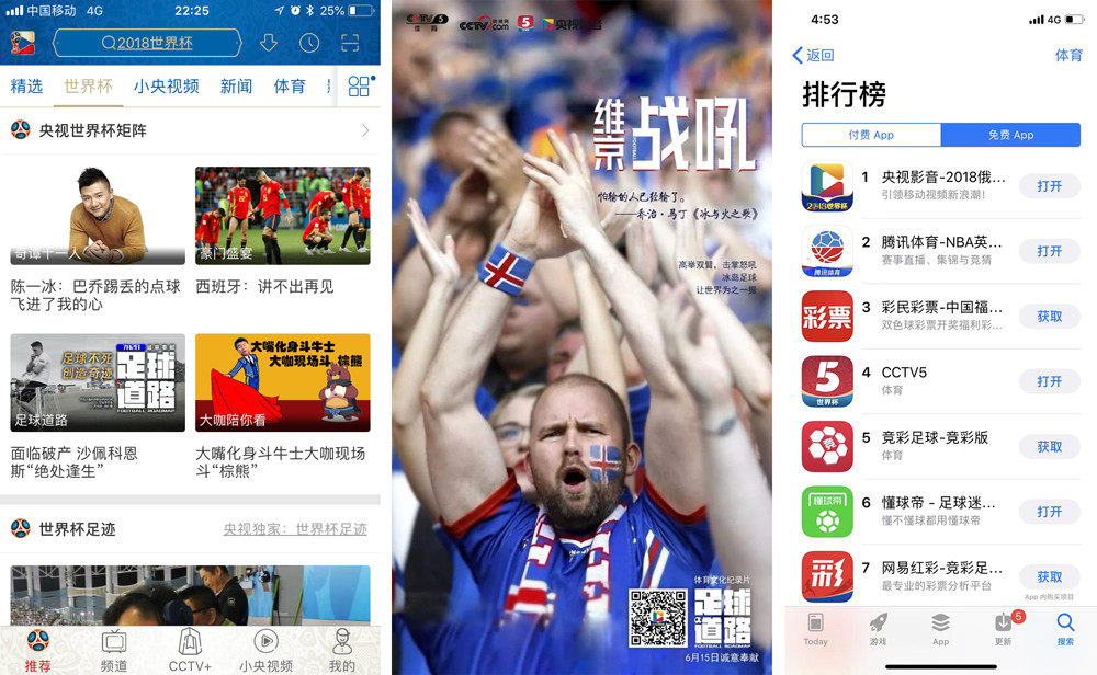 世界杯新媒体直播平台三足鼎立,央视系为何能突围而出?