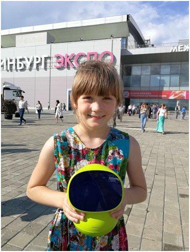 布丁智能机器人现身第五届中俄博览会