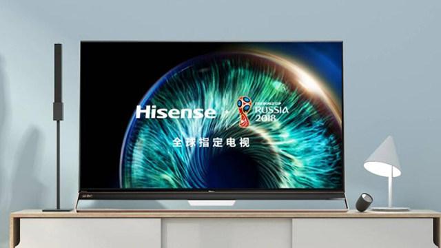 海信发布世界画质最高的新款电视U9D