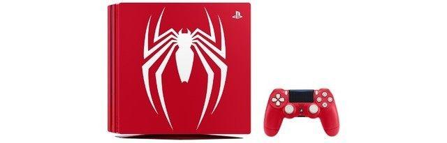 索尼今日发布《蜘蛛侠》主题的限量版PS4 Pro,钱包捂不住了