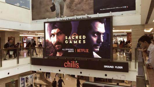 印度成Netflix最大亚洲市场