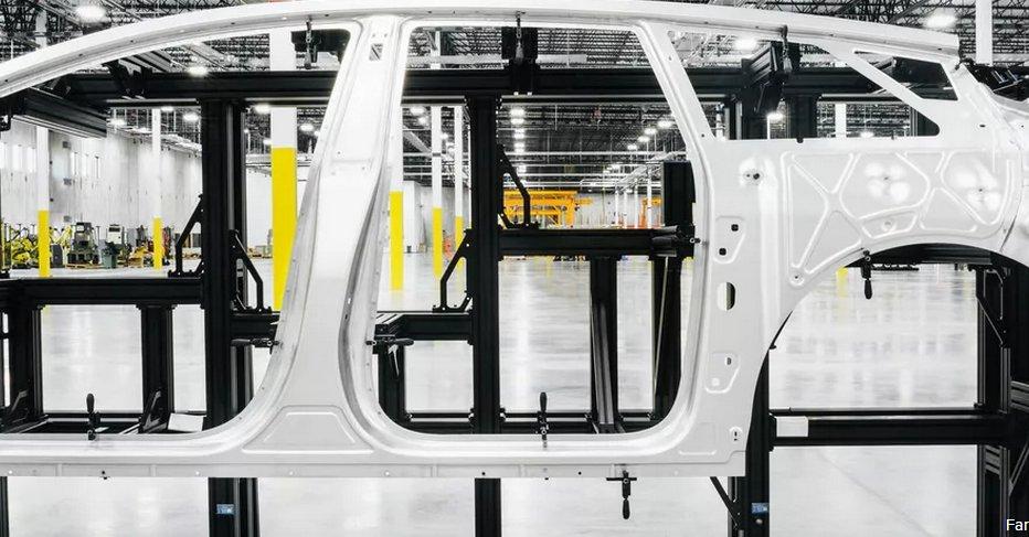 FF宣布首次完成FF91白车身 12月向客户交付汽车