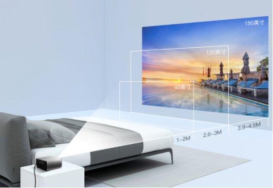 坚果与芒果TV联名合作,首发新品投影仪W700