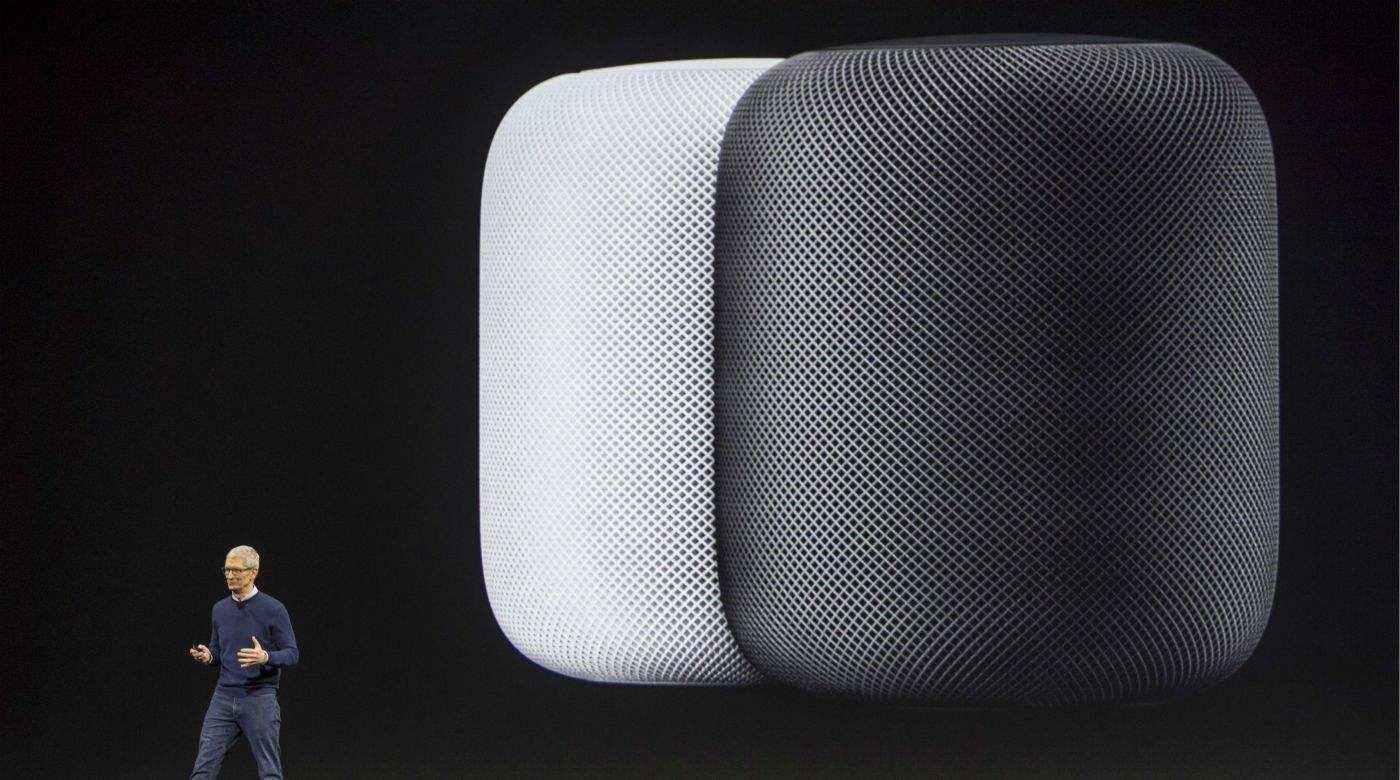 苹果HomePod智能音箱将支持手机通话