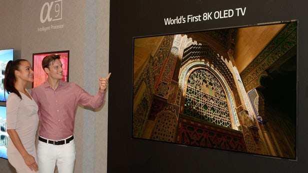 科技早报 LG 8K OLED电视即将发布;乐视网面临暂停上市风险