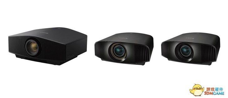 价格10万:索尼发布3款4K 60FPS投影仪
