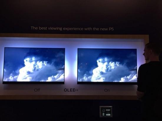 飞利浦电视流光溢彩技术吸睛,OLED新品惊艳亮相