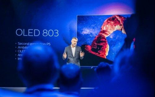 飞利浦发布803系列OLED电视新品 预计于9月登陆中国