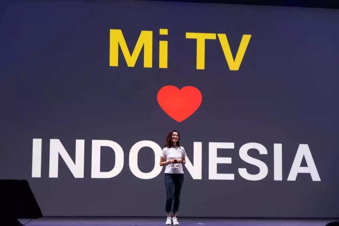 小米电视印尼首发 推动当地智能电视进入百元时代