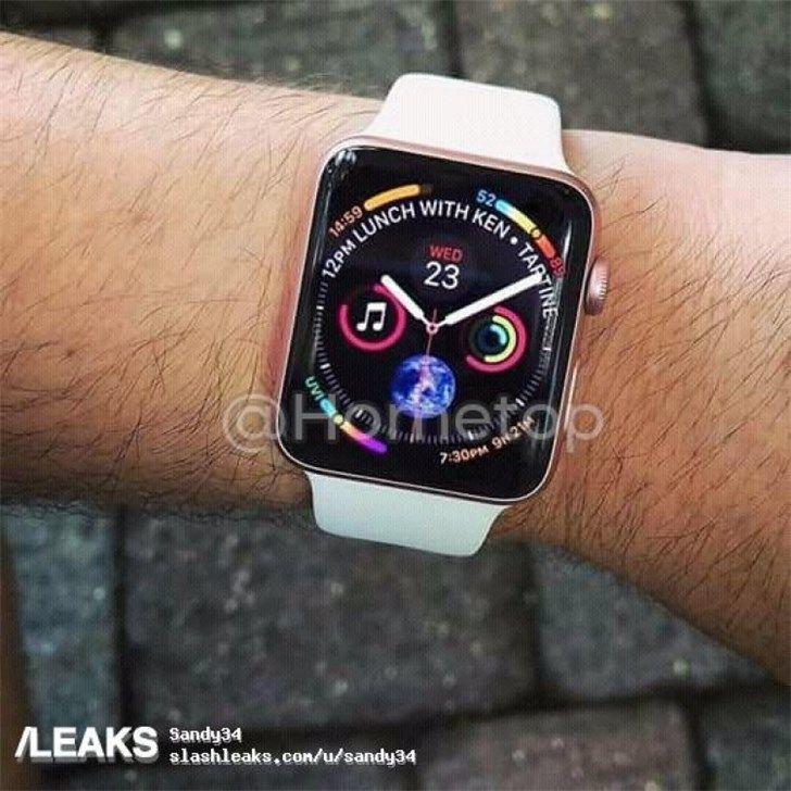 苹果Apple Watch Series 4真机曝光