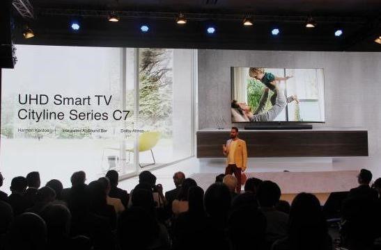 电视厂商角逐客厅经济,智能电视成市场切入口
