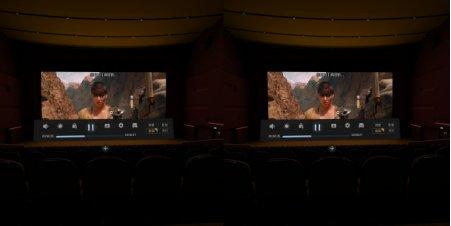 小米VR与DPVR全景声3D巨幕影院一体机横向对比