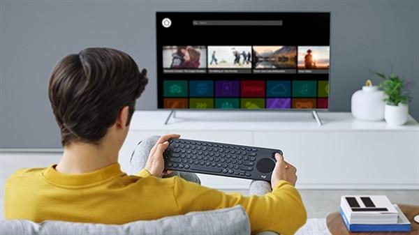 罗技发布K600电视键盘,自带触摸板和方向键