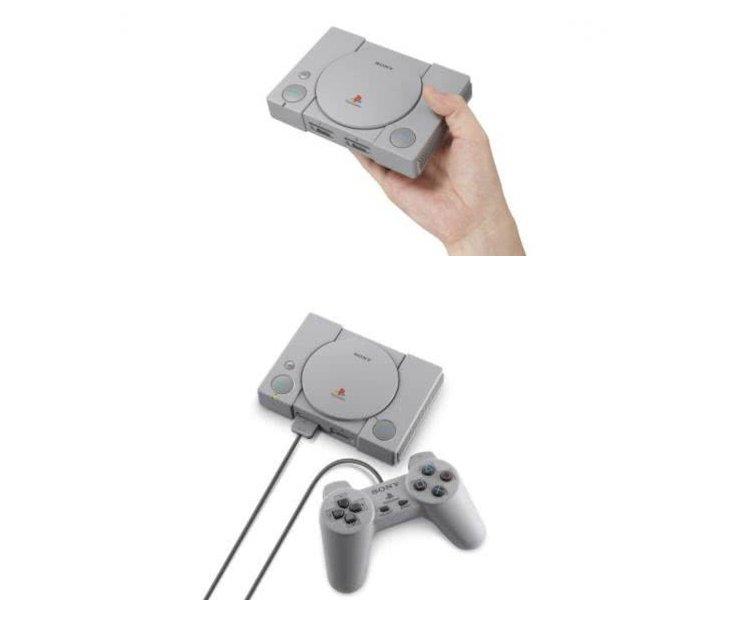 索尼复刻经典初代PS主机,内置20款经典PS1游戏