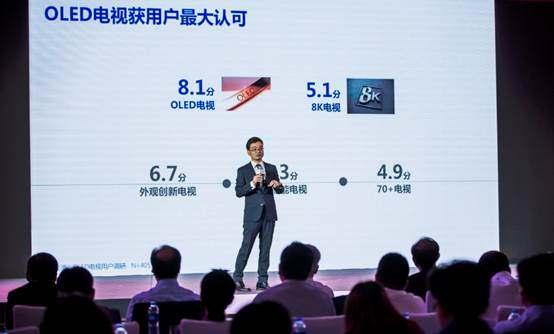 奥维云网《OLED电视用户调研报告》高端市场OLED电视是首选