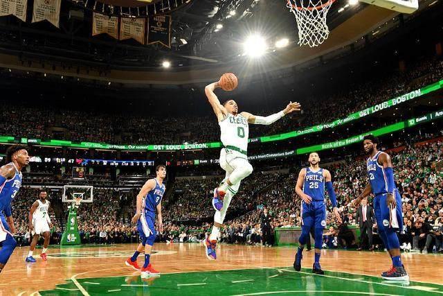 新赛季NBA揭幕战打响,凯尔特人主场轻胜76人