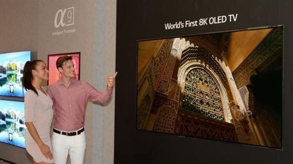 LG Display计划明年5月量产8K OLED面板