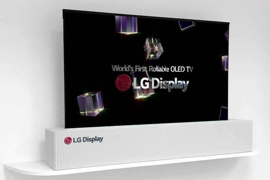 已证实:LG将在2019年CES展上推出可卷曲OLED电视机