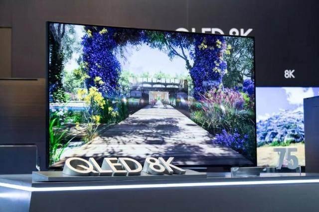 进博会三星全球新品首秀 8K QLED电视震撼全场!