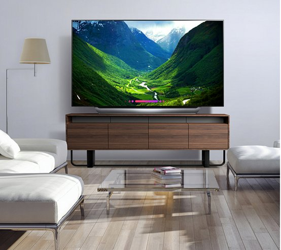 杜比全景声 LG 65C8PCA电视给你影院级视听体验