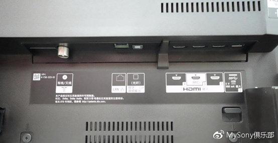 索尼电视接口功能介绍,常用电视接口功能详解!