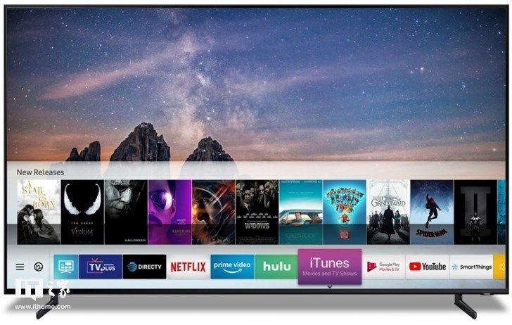 三星电视将支持苹果iTunes 可直接购买4K HDR内容