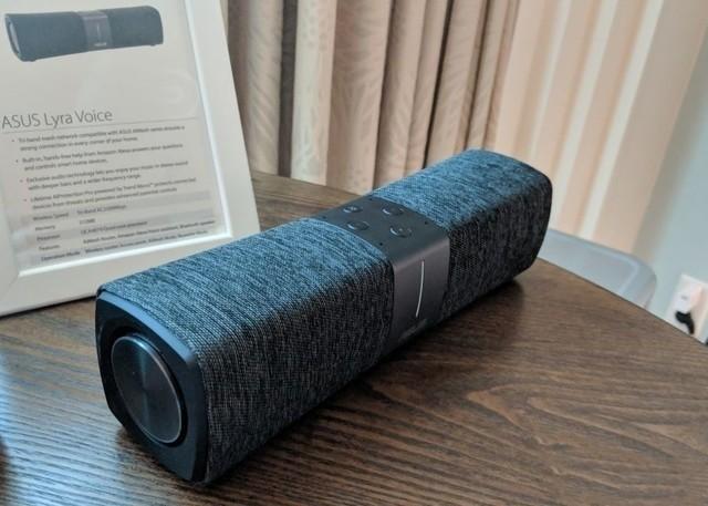 华硕正式推出一款智能音箱路由器 搭载语音助手Alexa
