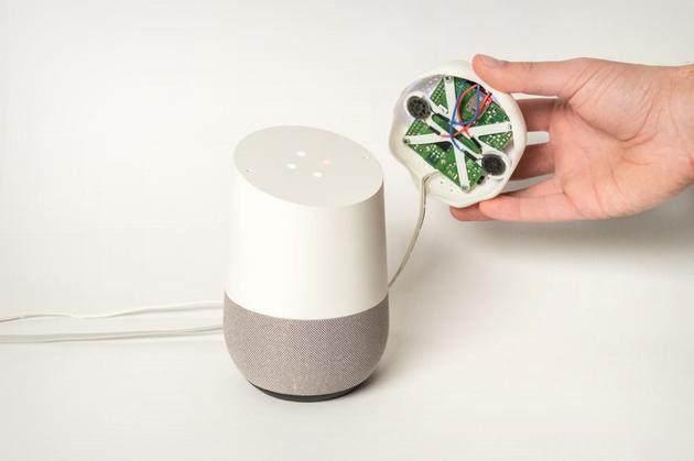 怕智能音箱泄漏隐私?新科技给音箱带上帽子使其更听话