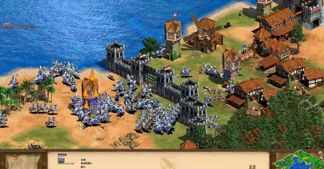 微软经典即时战略游戏《帝国时代4》或发布