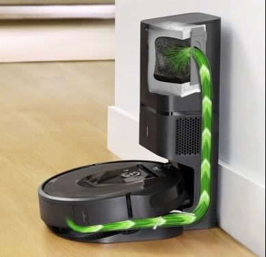 iRobot推出可自动倒垃圾的扫地机器人Roomba i7+