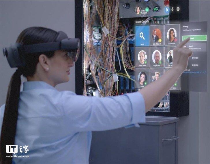 微软HoloLens 2新品将发布 体积更小,佩戴简单