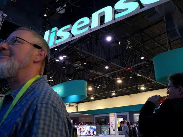 海信进军OLED电视市场 彩电行业高端化竞争正在打响_-_热点资讯-艾德百科网