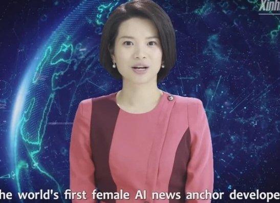 中国首个AI合成女主播上岗 几乎可以以假乱真