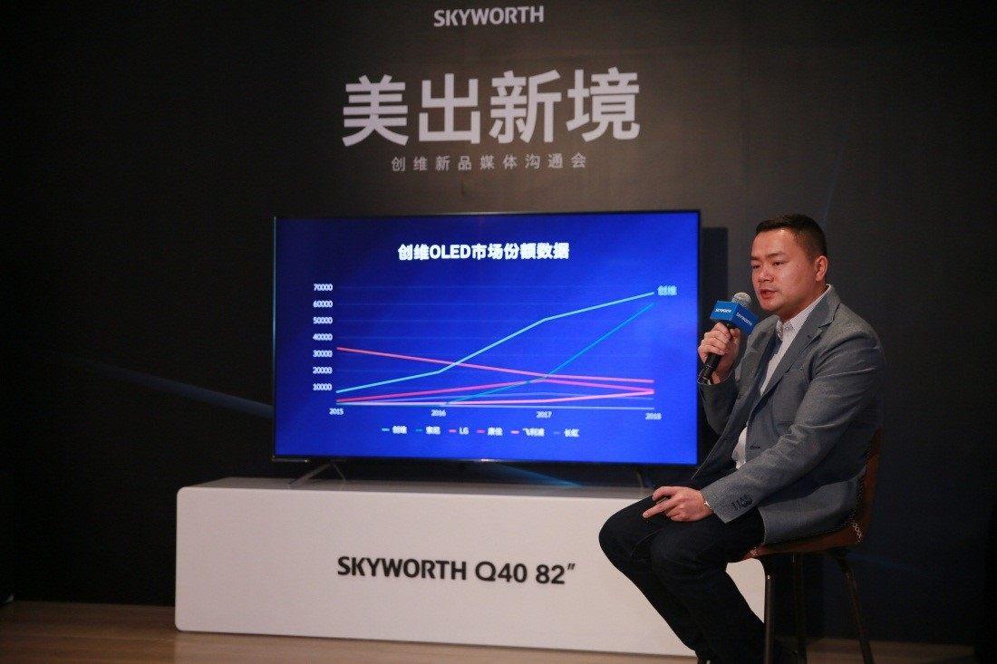 创维Q40 OLED电视新品发布 3月27日还将有大动作!