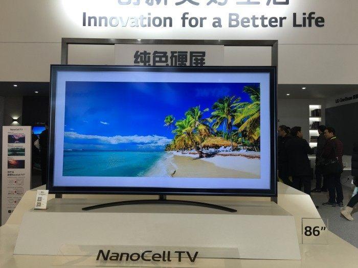 LG NanoCell电视新品发布:将于4月上市 售价799美元起
