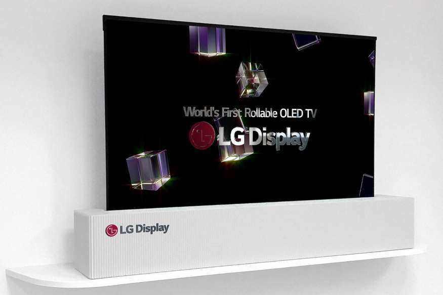 """看傻苏大强的""""升降电视"""",LG已经推出了现实完整版"""