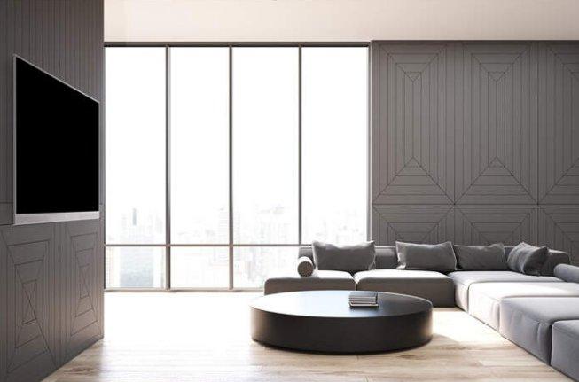 零距离壁挂设计,Letv Zero65让你将画展搬回家