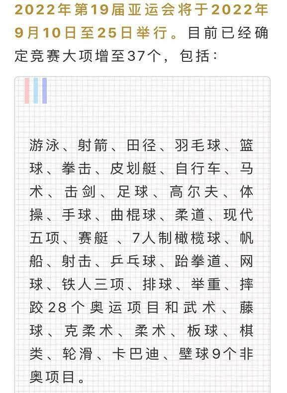 杭州亚运会无电竞是怎么回事?杭州亚运会取消电竞了吗?