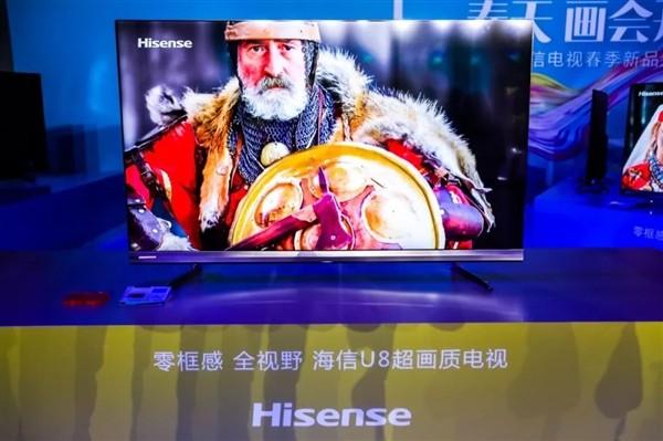 2019年Q1海信电视在日本销量第二 市场占有率达21.38%