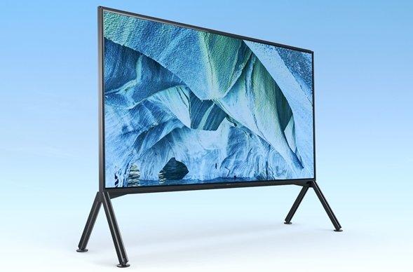 索尼公布98寸Z9G 8K电视售价,约人民币8.7万元