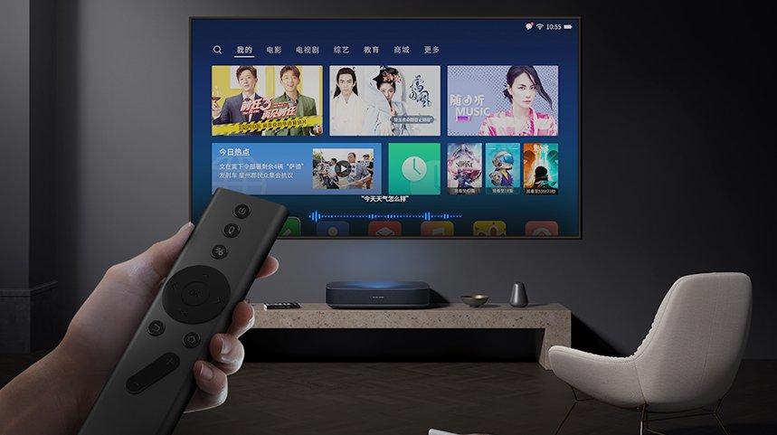极米矅·LUNE 4K Pro激光电视发布 重新定义万元级激光电视