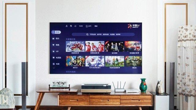 激光电视对比传统电视 告诉你几千元贵在哪!