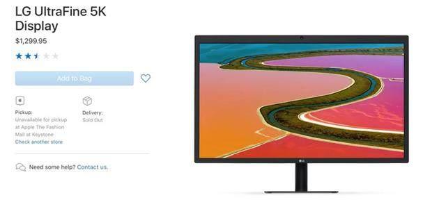 苹果31.6英寸6K显示器或将于第二季度或第三季度发布