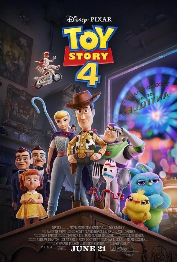 迪士尼又一力作!《玩具总动员4》6月21日国内同步上映