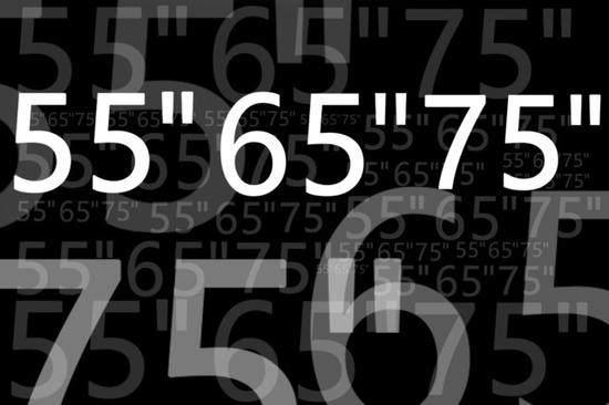 """为啥电视主流尺寸都带个""""5""""?原来竟是这样!"""