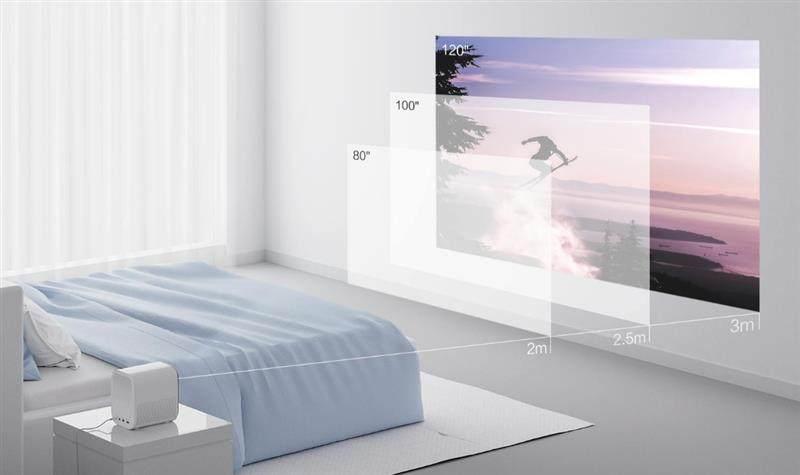 小米投影仪青春版评测:500ANSI流明 2499元的120吋巨幕