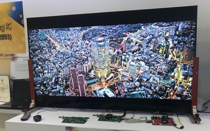 瑞昱展示旗下首款8K影像解码与处理芯片RTD2893